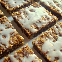 pumpkin-walnut squares