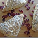 cranbery almond scones
