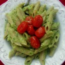 avocado-pasta-roasted-grape-tomatoes