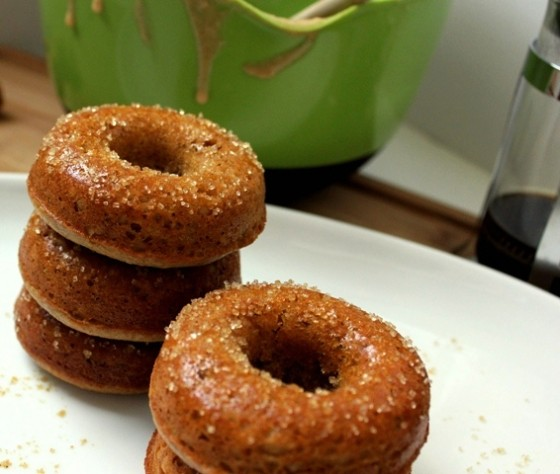 Gingerbread Donuts - Bake Your Day