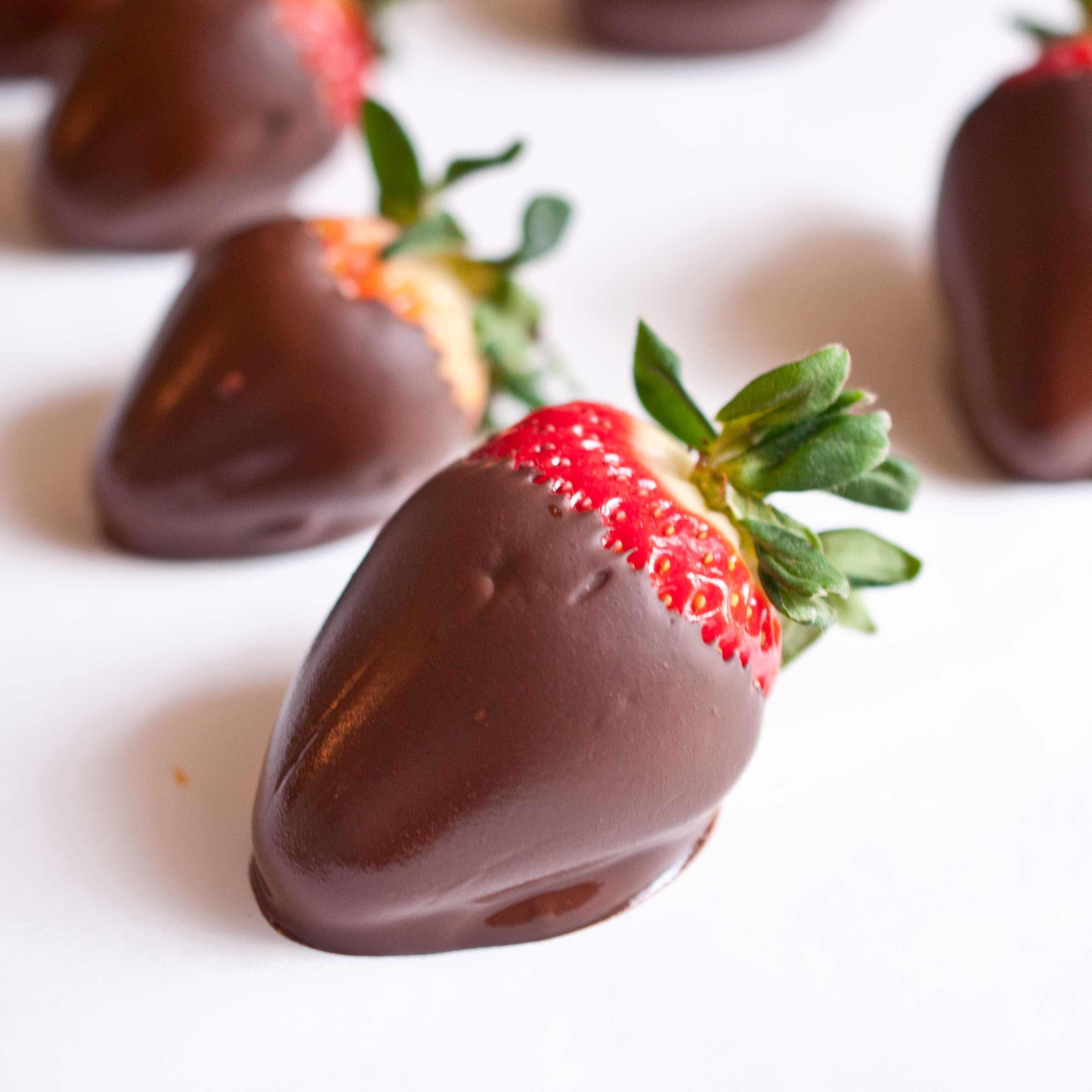 Chocolate Covered Strawberries from Domestic Fits - Bake Your Day