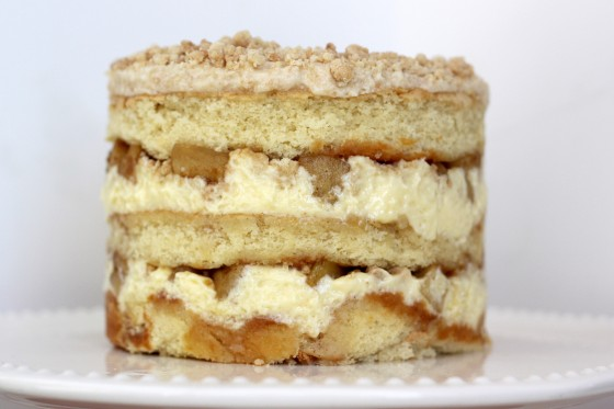recipe is beyond reason to turn the traditional apple pie into a layer ...