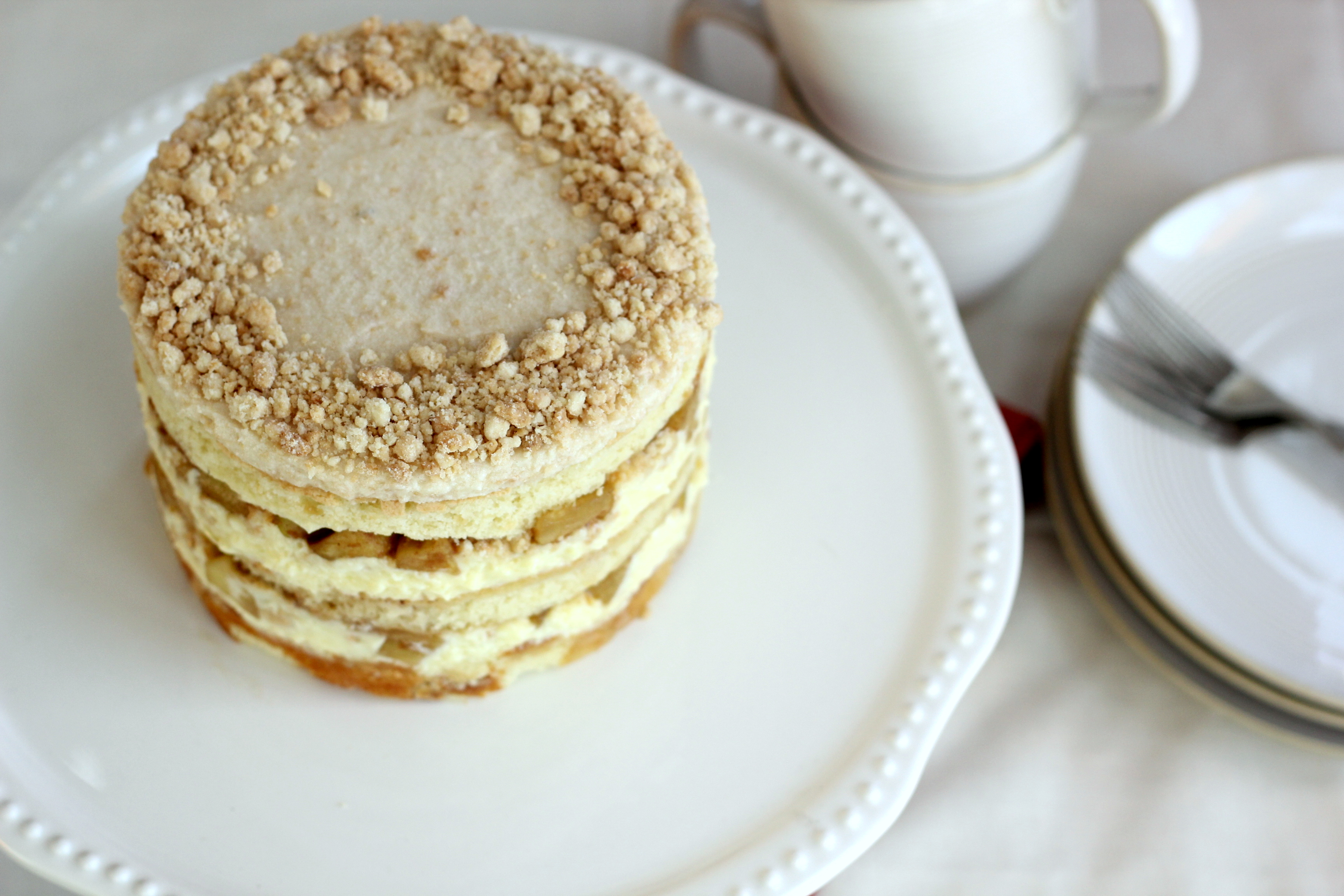 Milk Bar Mondays Apple Pie Layer Cake