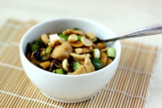 Cashew Chicken | bakeyourday.net