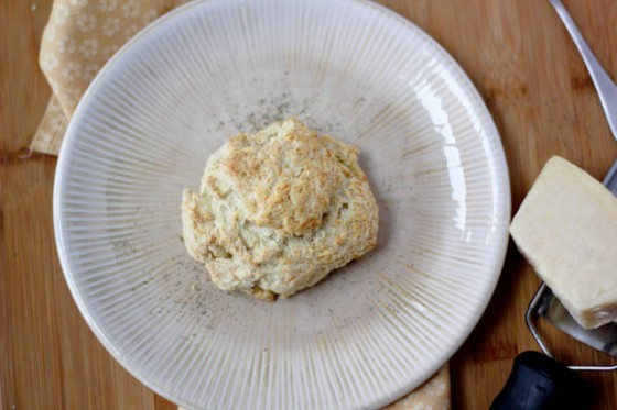 Black Pepper Parmesan Drop Biscuits | Bake Your Day