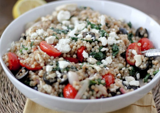 Quick Israeli Couscous Salad Recipe