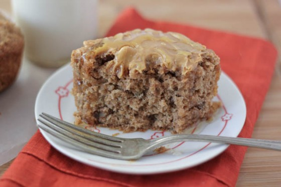 Vegan Banana Nut Breakfast Cake