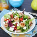 sweet-apple-chicken-sausage-salad-pears-feta-curry-vinaigrette-50