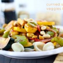 Curried Sesame Veggies & Pasta | Bake Your Day