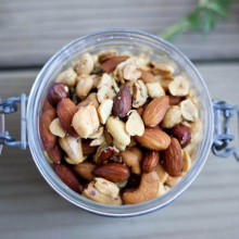 Rosemary Roasted Nuts | Bake Your Day