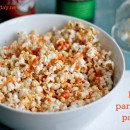 Buffalo Parmesan Popcorn | Bake Your Day