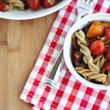 Balsamic Pasta Salad with Grilled Veggies | Bake Your Day