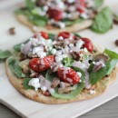Spinach Salad Pizza | Bake Your Day
