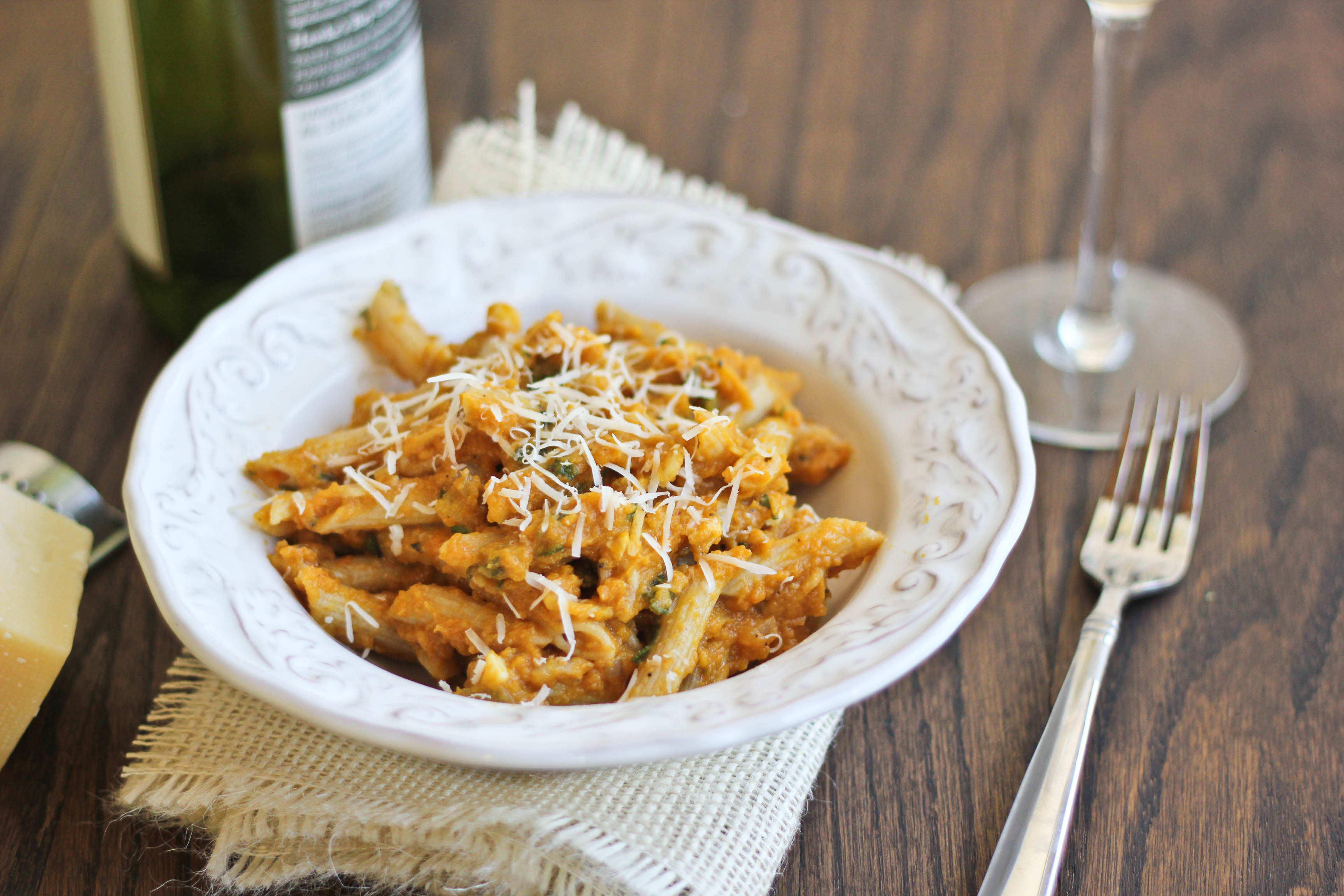 Pumpkin pasta dishes recipes