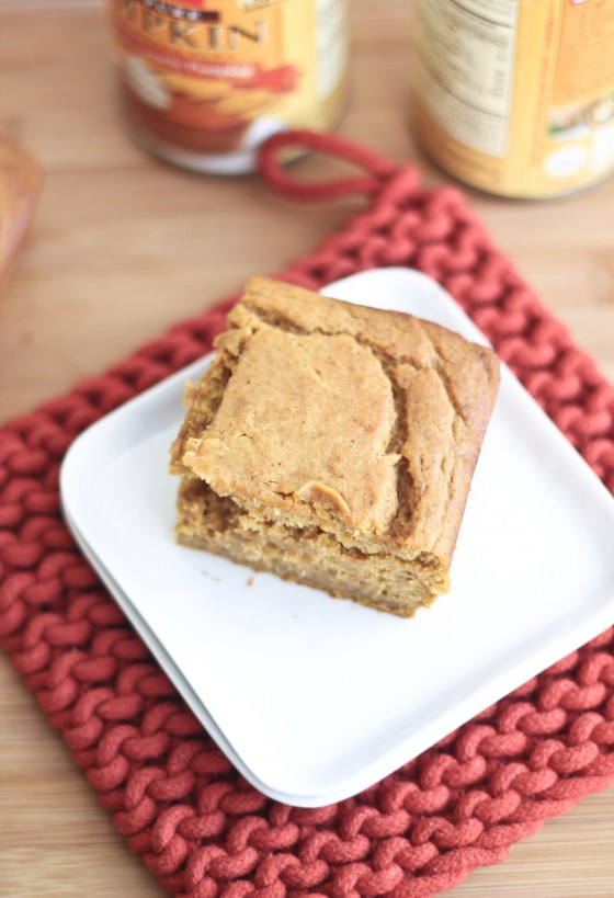 Pumpkin Yogurt Snack Cake