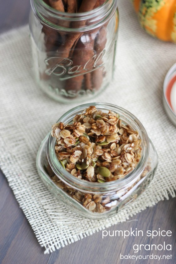 Pumpkin Spice Granola 
