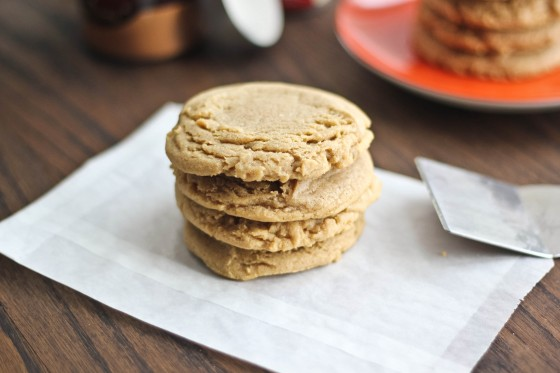 Brown Butter Bourbon Spice Cookies