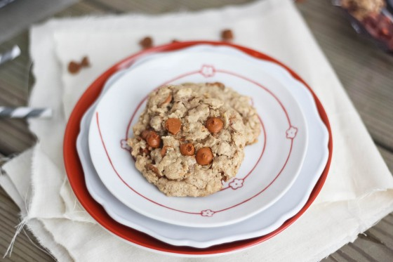 Cinnamon Chip Oatmeal Cookies