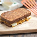 Pumpkin Cheddar Grilled Cheese