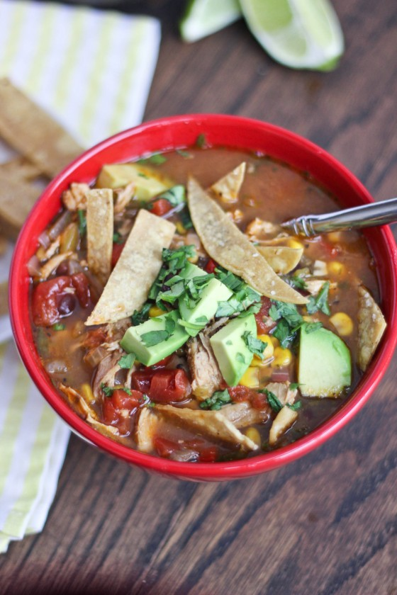 Chicken Tortilla Soup | Bake Your Day