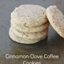Cinnamon Clove Coffee Cookies