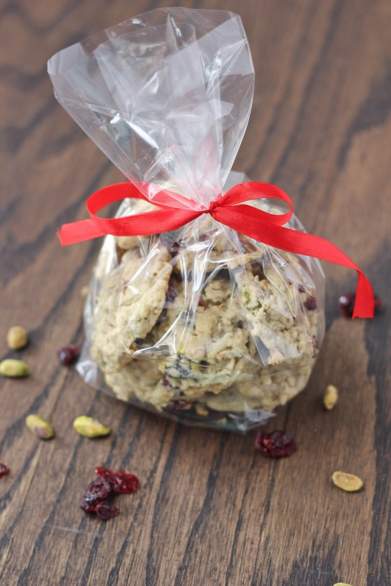 Oatmeal Cranberry Pistachio Cookies 