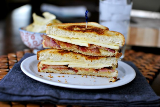 Apple Bacon Grilled Cheese 8
