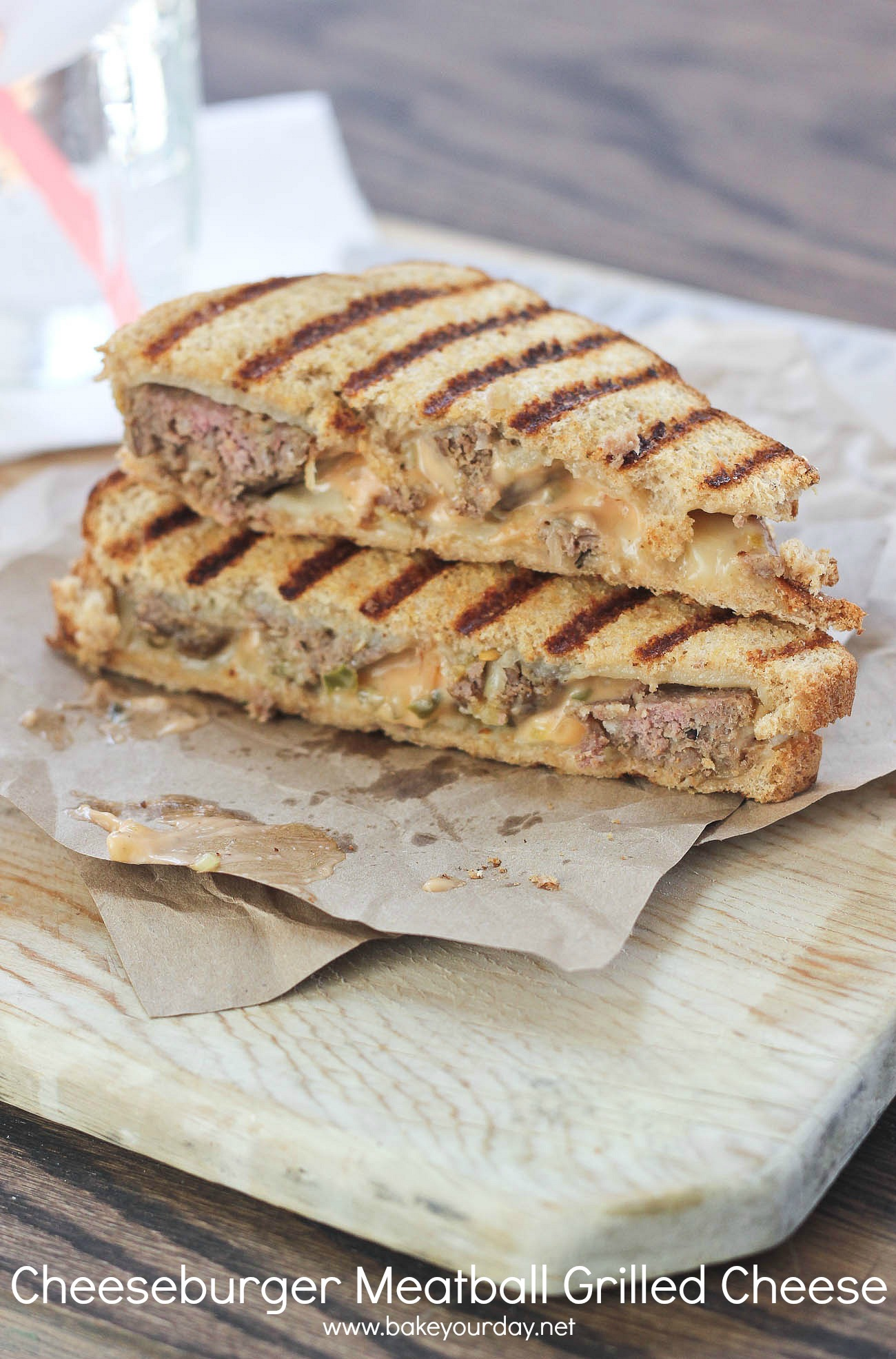 Two Cheese Meatball Grilled Cheese Recipes — Dishmaps