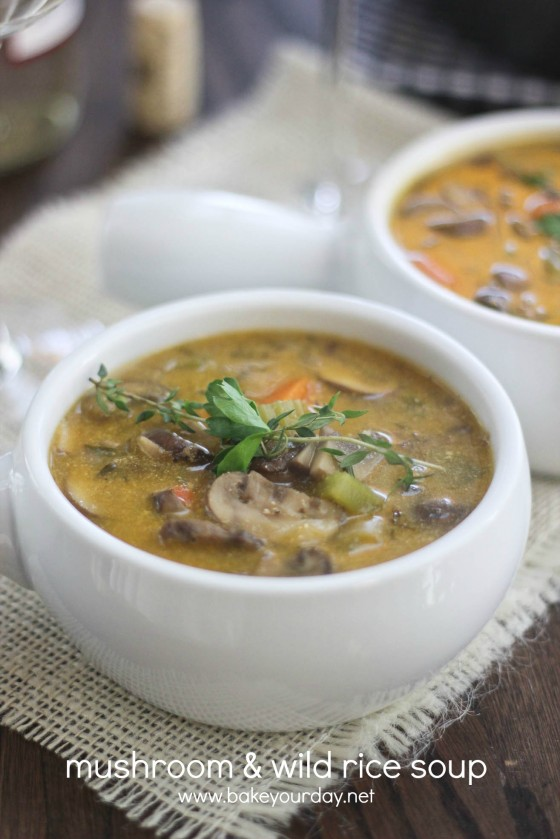 Cream Of Mushroom And Wild Rice Soup Recipes — Dishmaps