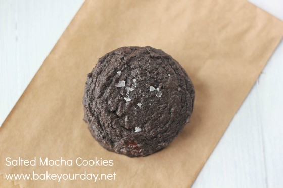 Salted Mocha Cookies