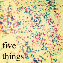 sprinkles five things