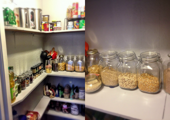 Pantry Organization 101 - shelves