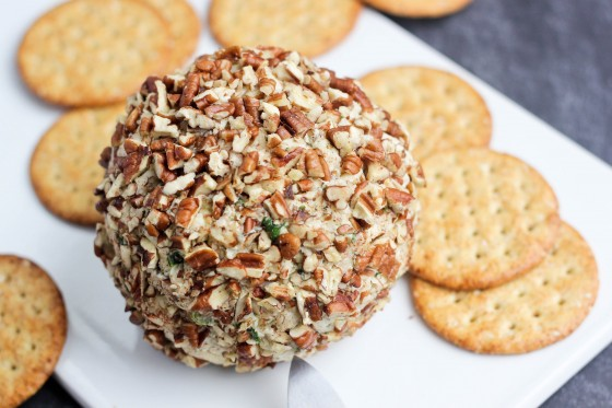 cheese ball recipe easy cheese ball ii recipe caraway cheese ball ...