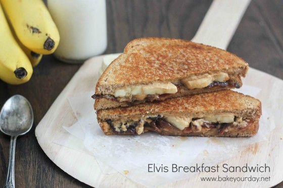 Elvis Breakfast Sandwich