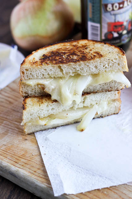 National Grilled Cheese month) without posting a grilled cheese