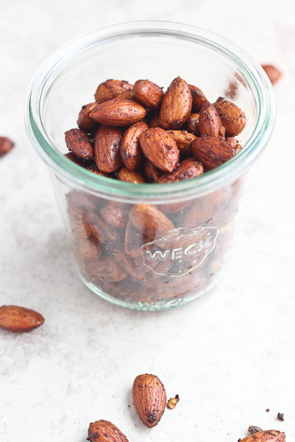 Roasted Smoky Almonds