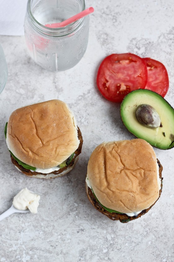 ... these Sweet Potato Black Bean Burgers at Imperial Sugar's website