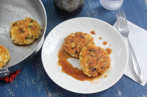 Asian Fish Cakes with Homemade Teriyaki Sauce | Bake Your Day