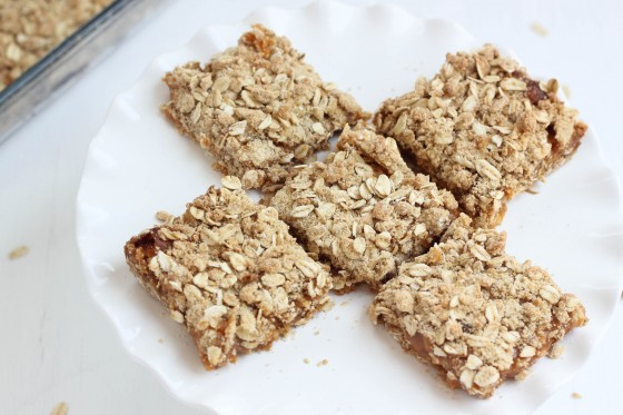 Oatmeal Almond Butterscotch Bars   Bake Your Day