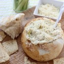 Hot & Cheesy Artichoke Dip