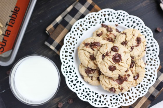 Butter-Flavored Olive Oil Chocolate Chip Cookies