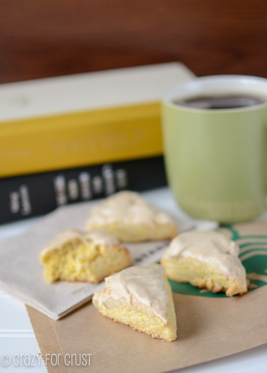 Copycat Starbucks Vanilla Scones by Crazy for Crust
