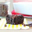 Sea Salt Zucchini Brownies | bakeyourday.net