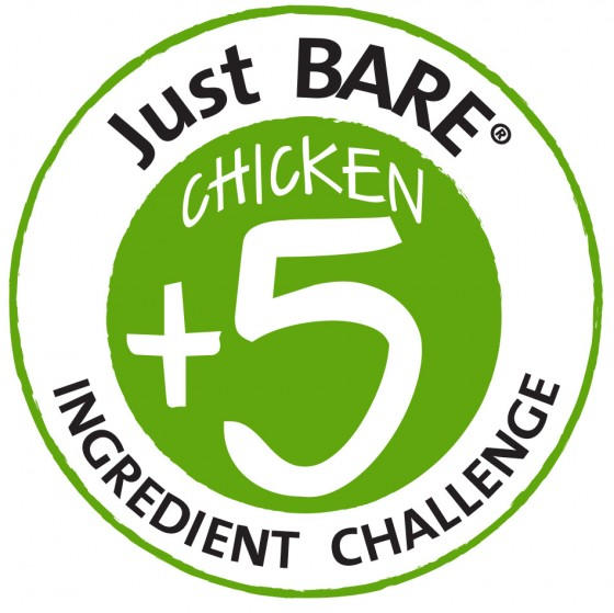 Chicken + 5 Recipe Challenge Logo