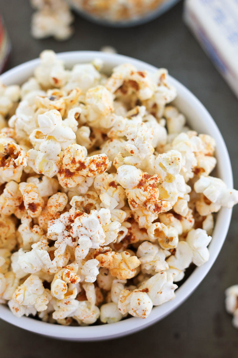 Spicy Popcorn Bake Your Day