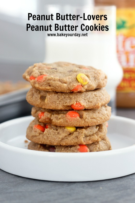 Peanut Butter-Lovers Peanut Butter Cookies
