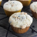 Meyer Lemon Blueberry Muffins with Streusel