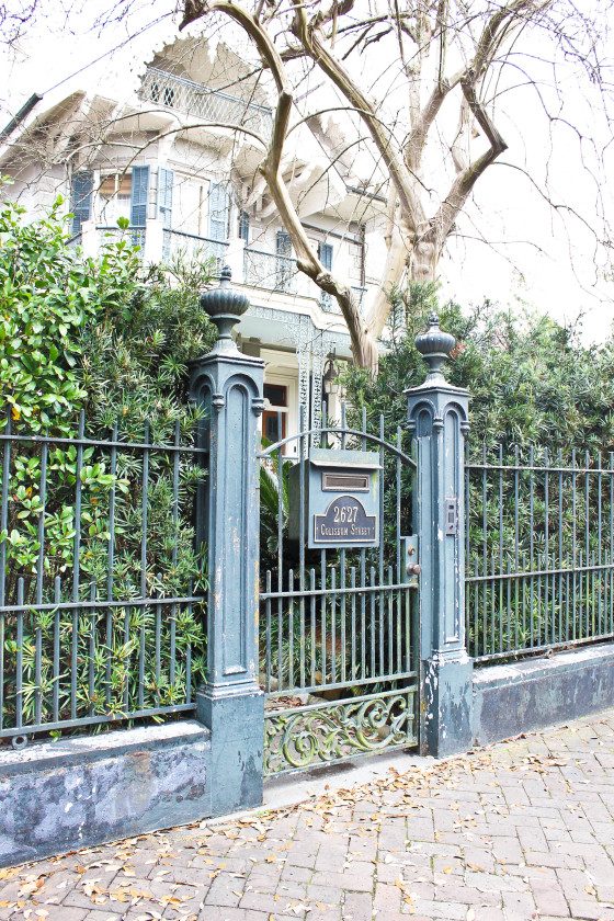 Sandra Bullock's Home in the New Orleans Garden District