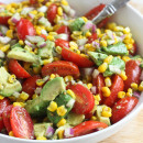 Avocado, Corn & Tomato Salad