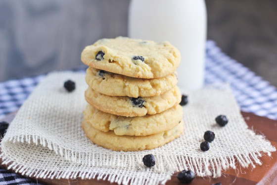 Blueberry Vanilla Pudding Cookies Recipe